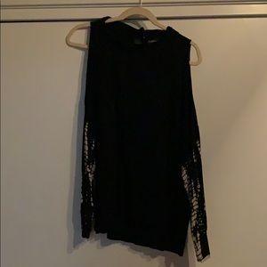Gypsy 05 tie dye cutout shirt size Medium